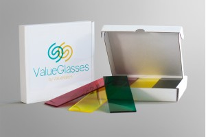 Trainer set ValueGlasses yellow